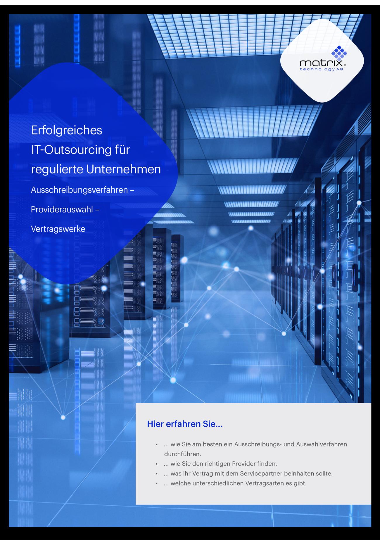 Whitepaper - Erfolgreiches IT-Outsourcing für regulierte Unternehmen